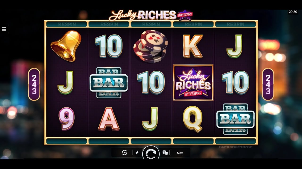 Lucky Riches Hyperspins Slot Gameplay