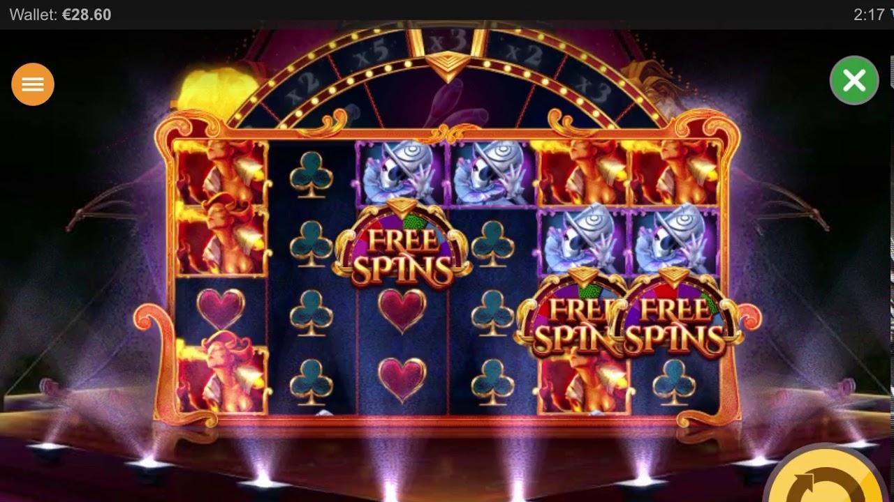 Cirque De La Fortune Slot Gameplay
