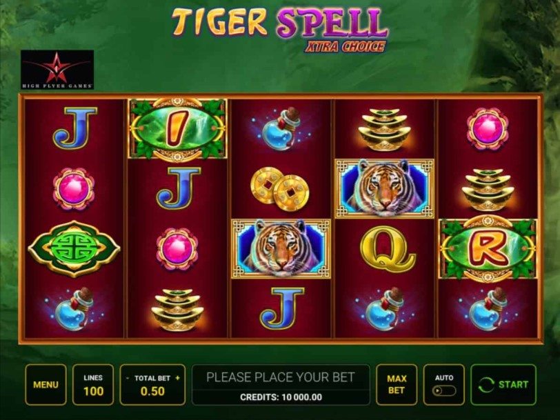 Tiger Spell Xtra Choice Slot Gameplay