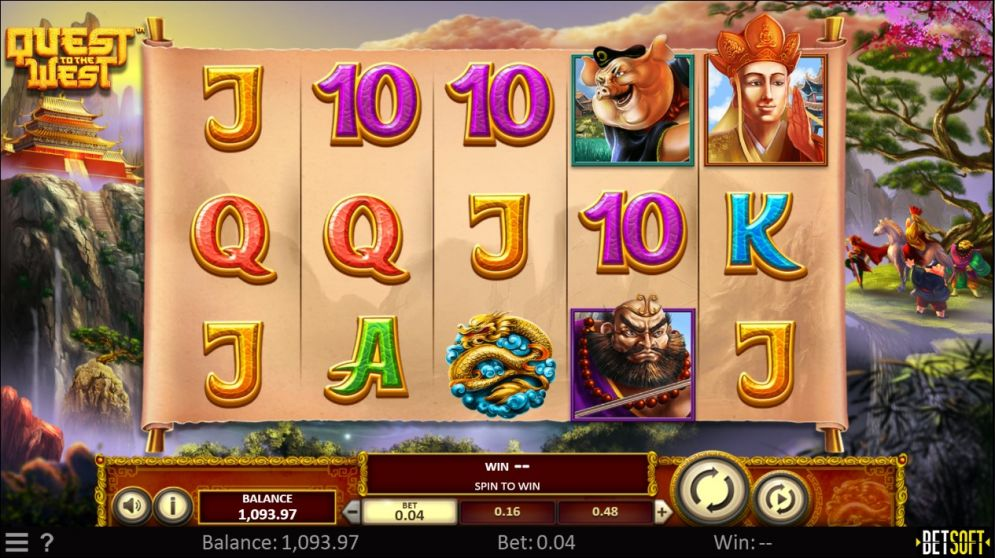 Quest to the West Slot Gameplay