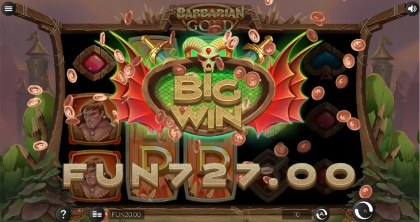Barbarian Gold Slot Gameplay