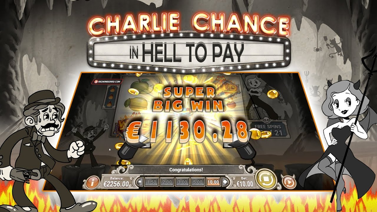 Charlie Chance in Hell to Pay Slot Gameplay
