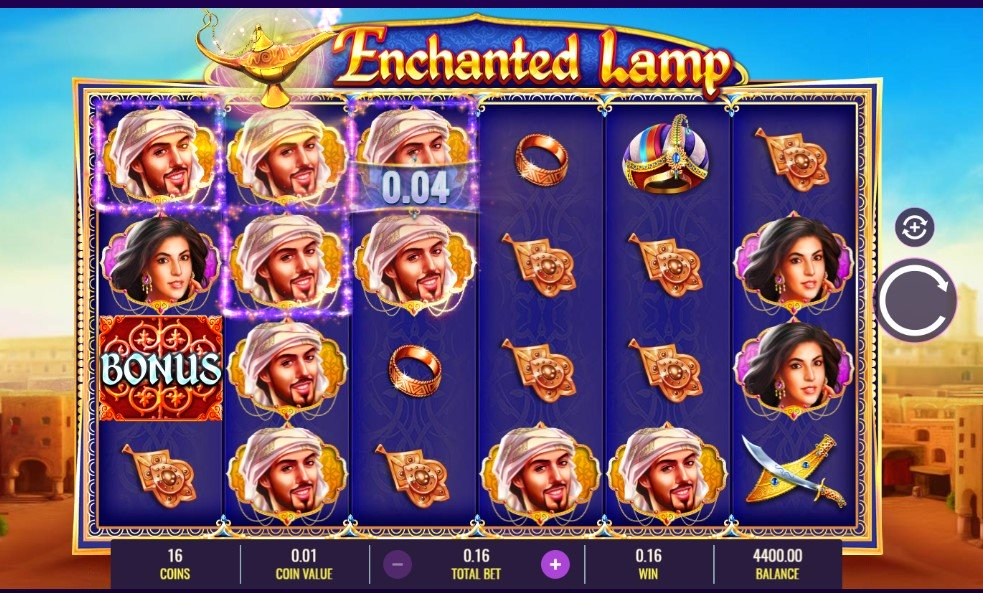 Enchanted Lamp Slot Gameplay