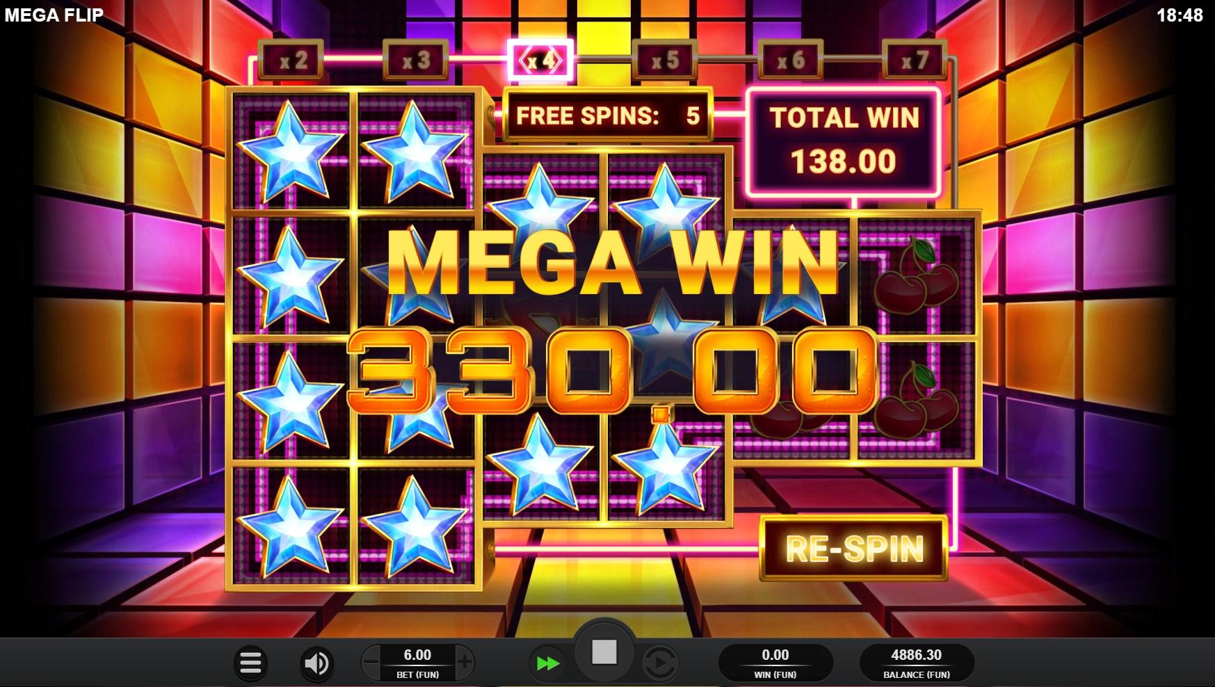 mega-flip-slot-bonus