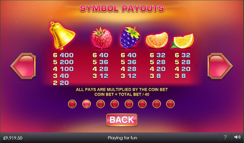 blazing-bells-slot-paytable