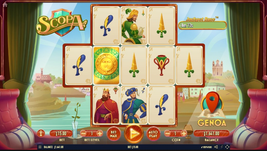 scopa-slot-gameplay