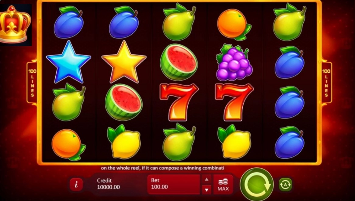 fruity-crown-slot-gameplay