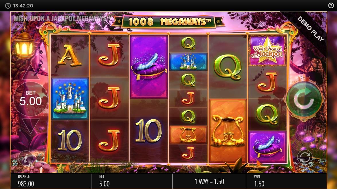 wish-upon-a-jackpot-megaways-slot-gameplay
