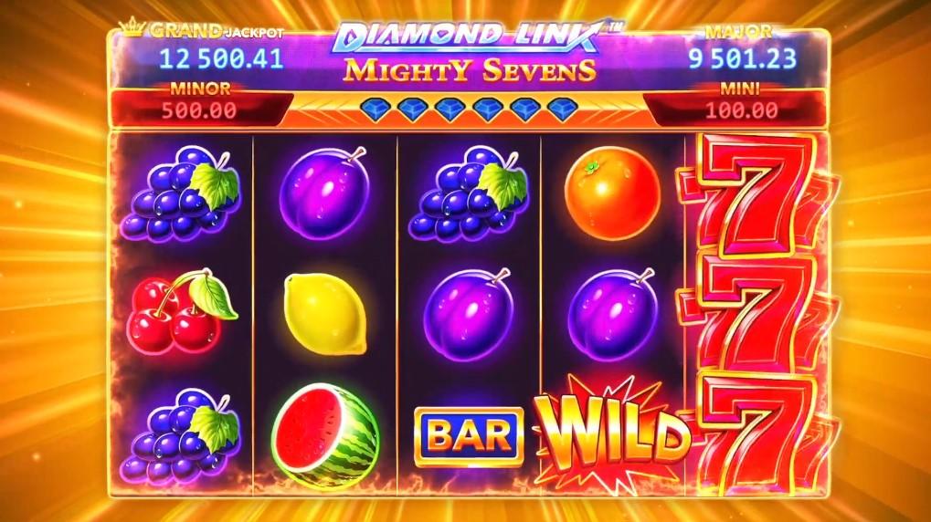diamond-link-mighty-sevens-slot-gameplay