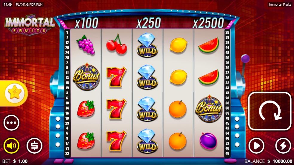 immortal-fruits-slot-gameplay