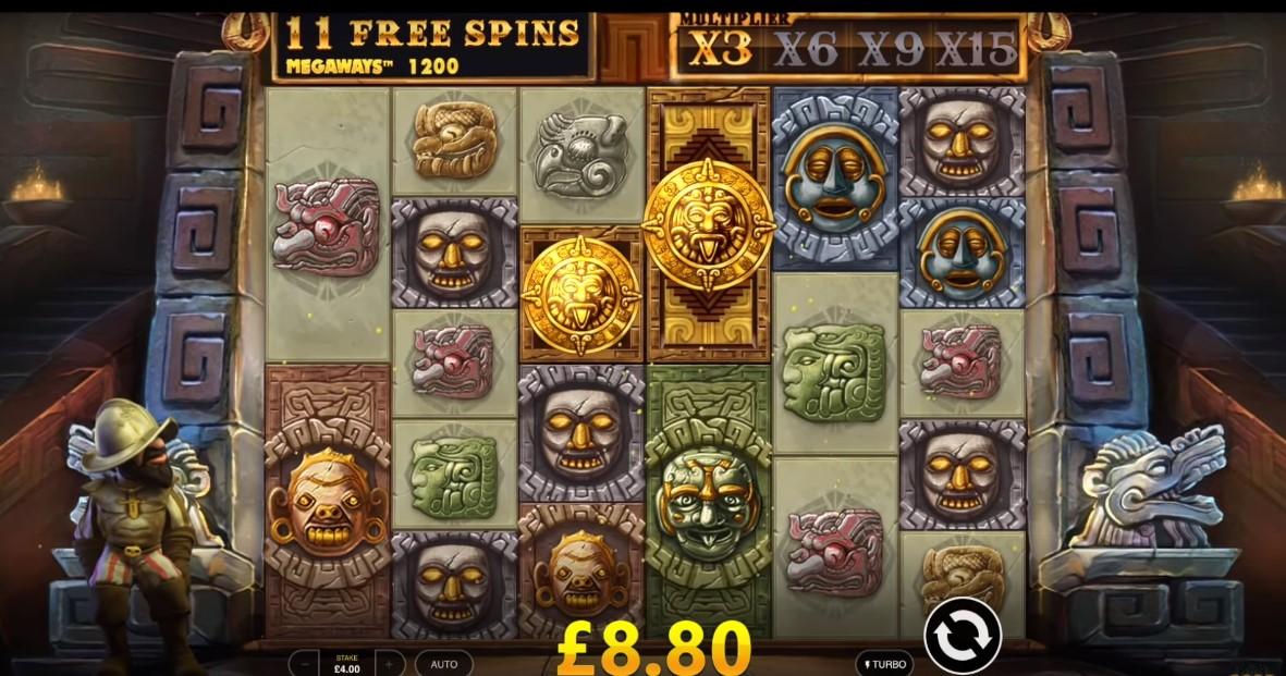 gonzos-quest-megaways-slot-gameplay