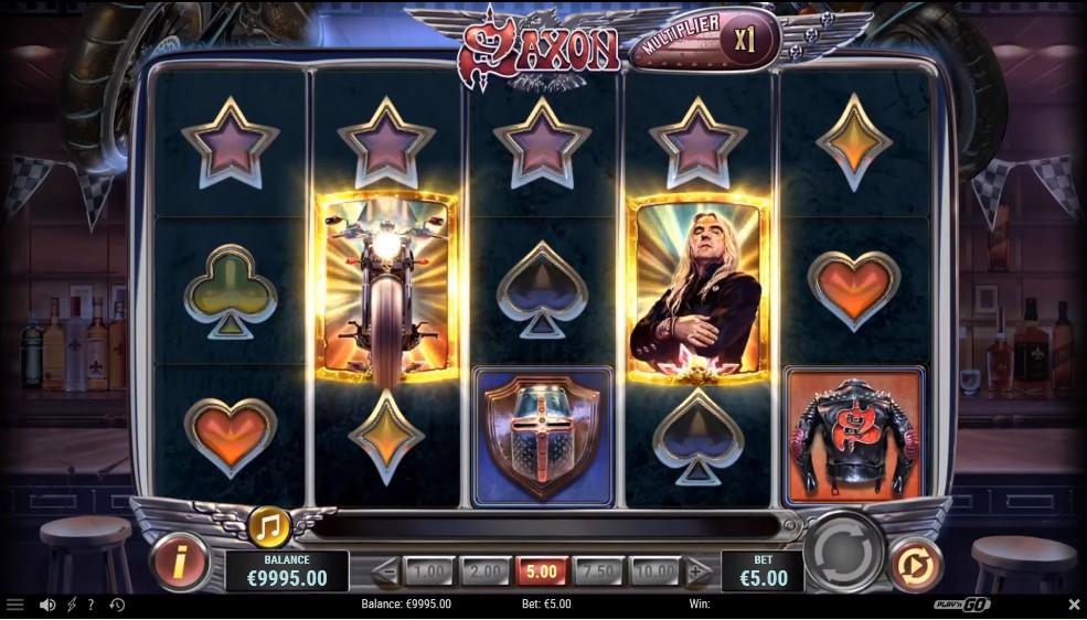 saxon-slot-gameplay