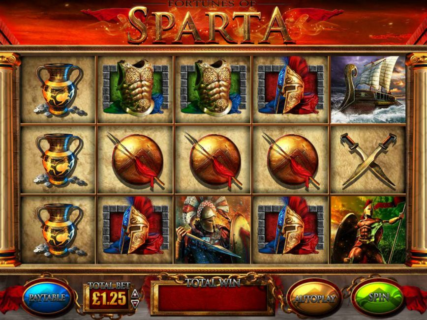 fortunes-of-sparta-slot-gameplay