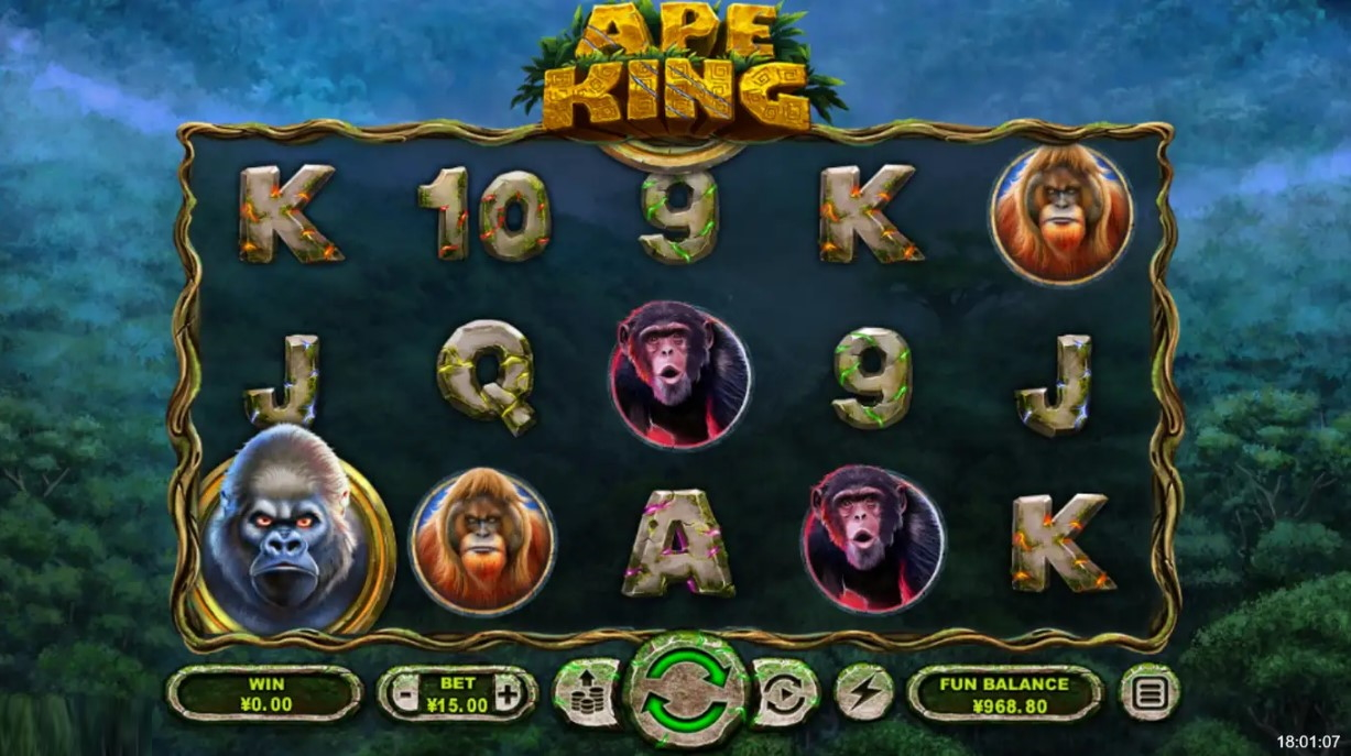 ape-king-slot-gameplay