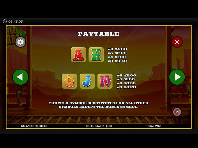 wild-corral-slot-paytable