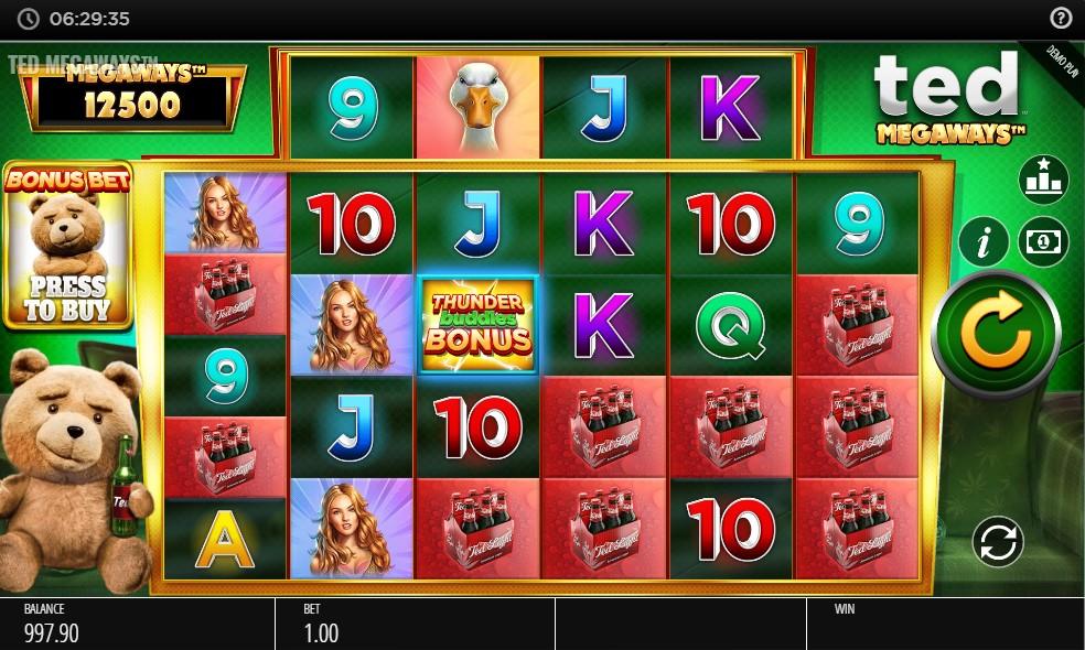 ted-megaways-slot-gameplay