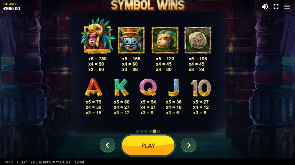 yucatans-mystery-slot-paytable
