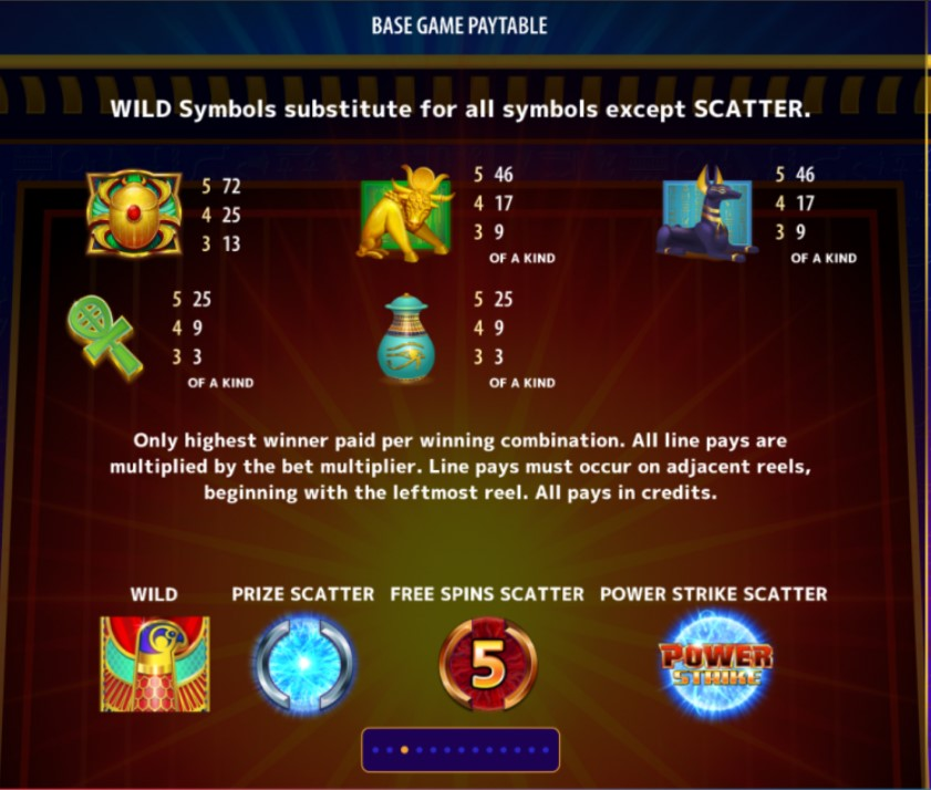 power-strike-egyptian-riches-slot-paytable
