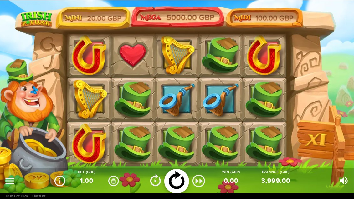 irish-pot-luck-slot-gameplay