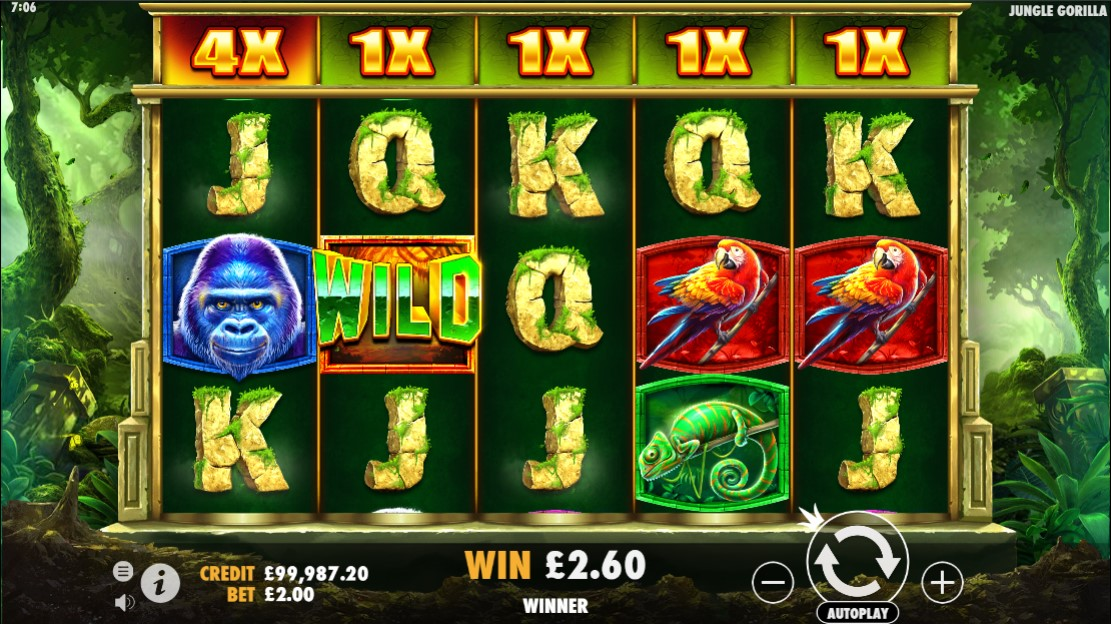 jungle-gorilla-slot-gameplay