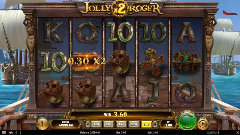 jolly-roger-2-slot-gameplay