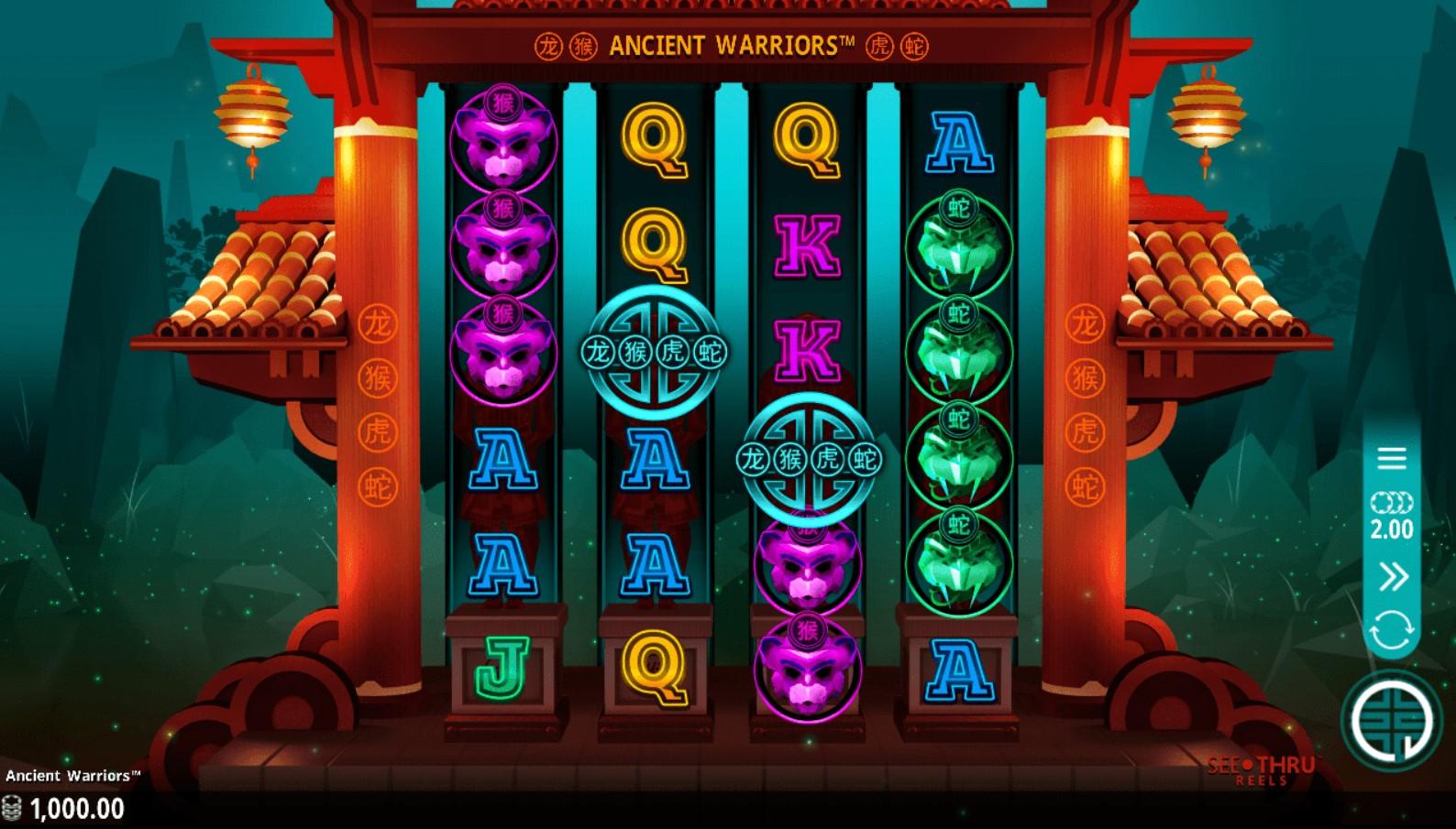 ancient-warriors-slot-gameplay