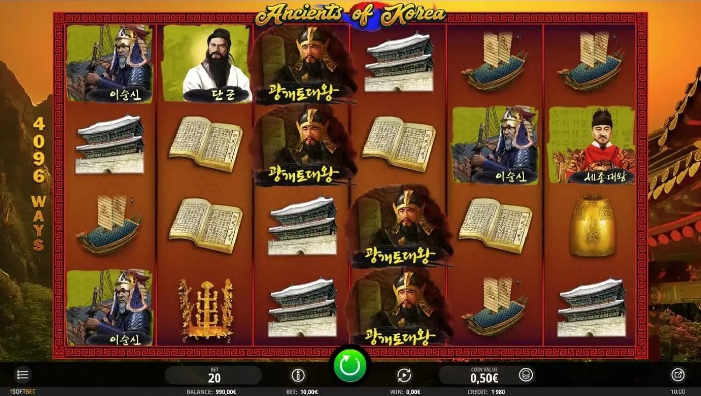 ancients-of-korea-slot-gameplay