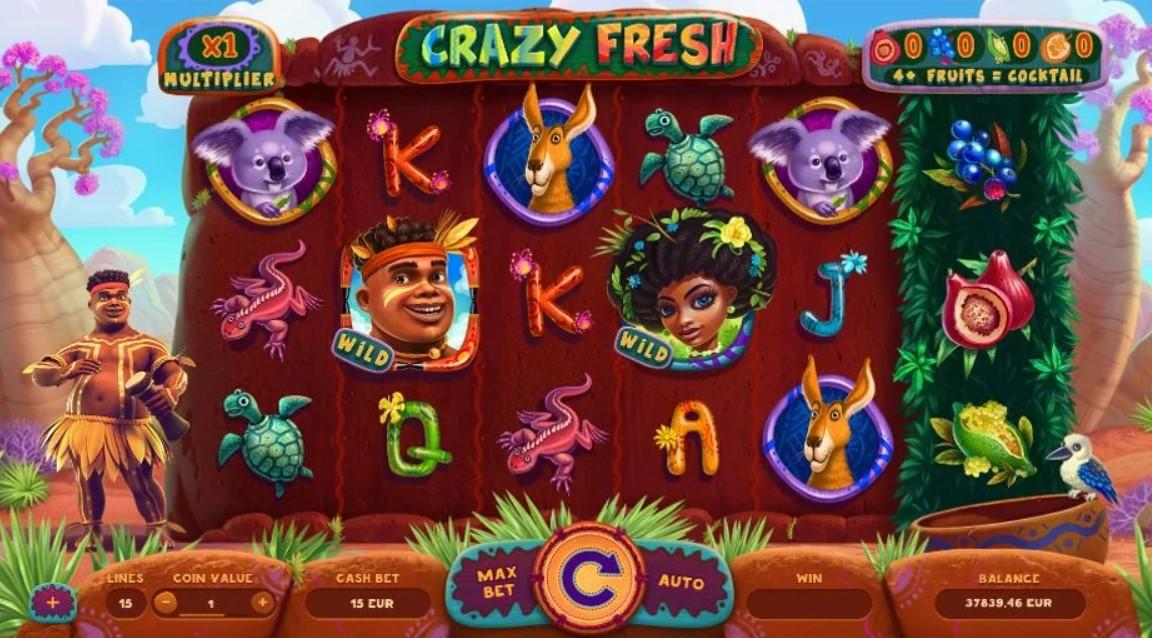 crazy-fresh-slot-gameplay