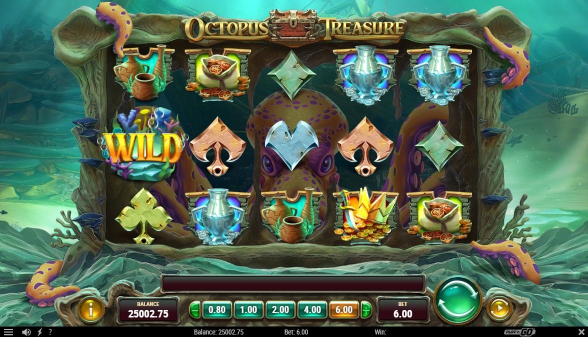octopus-treasure-slot-gameplay