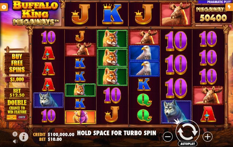 Buffalo King Megaways (Pragmatic Play) Slot Review - 💎AboutSlots