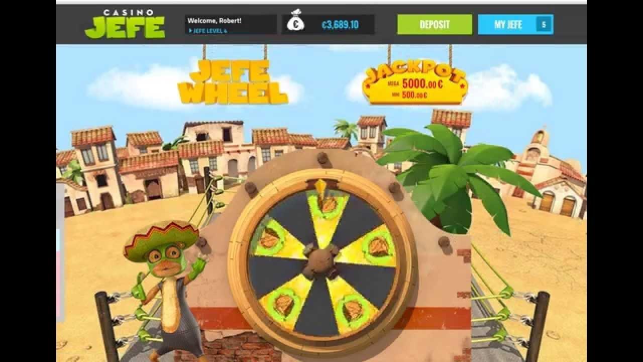 Jefe Jackpot Wheel Win (demo) - YouTube