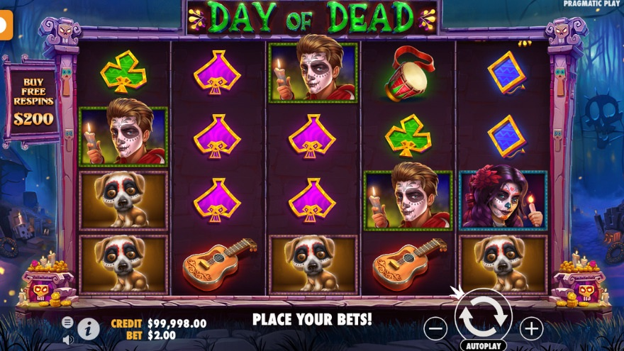Day of dead - buy free respins