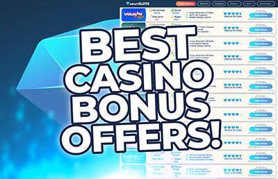 Exclusive Casino Bonus Offers Best Online Casinos Aboutslots