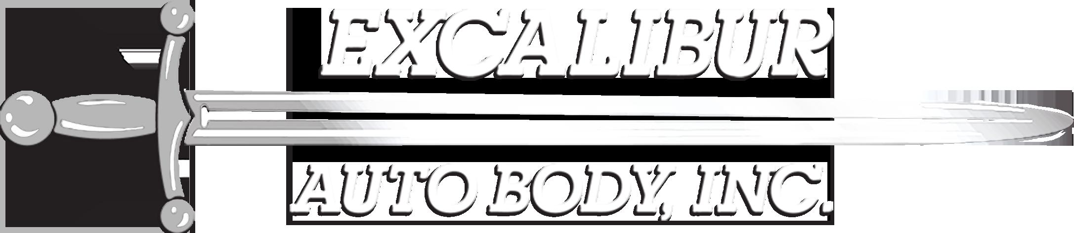 Excalibur Auto Body Logo
