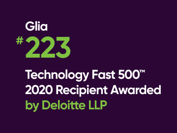 Glia Recognized as a Fastest-Growing Company in North America by the Deloitte 2020 Technology Fast 500