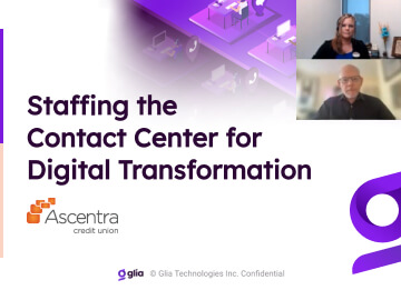 Staffing Your Contact Center for Digital Transformation