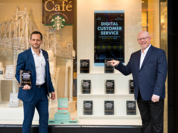 """Glia's Dan Michaeli and Rick DeLisi author the definitive book on delivering a five-star experience for today's customers in """"Digital Customer Service,"""" published today by Wiley"""