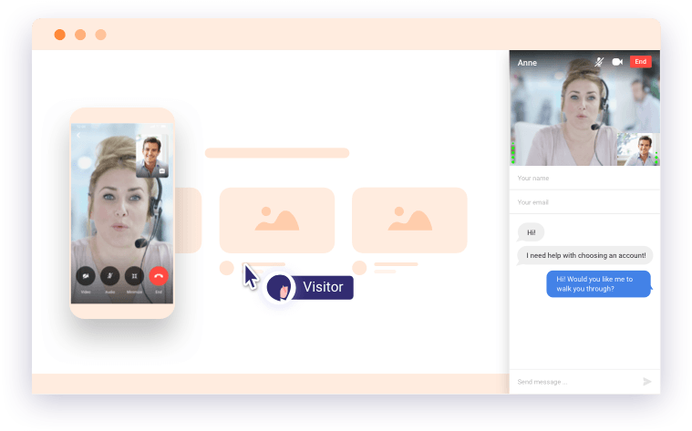online mobile video chat