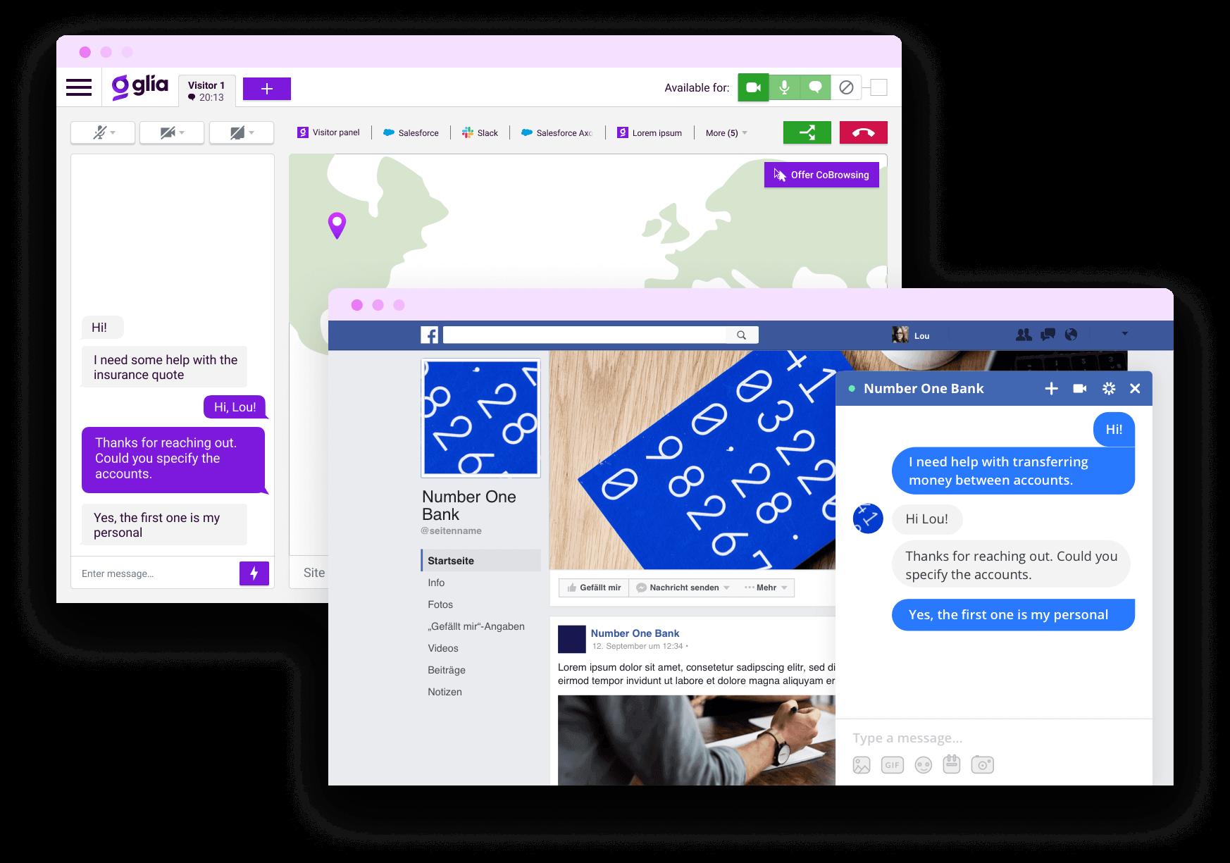 Digital Customer Service Social Messaging