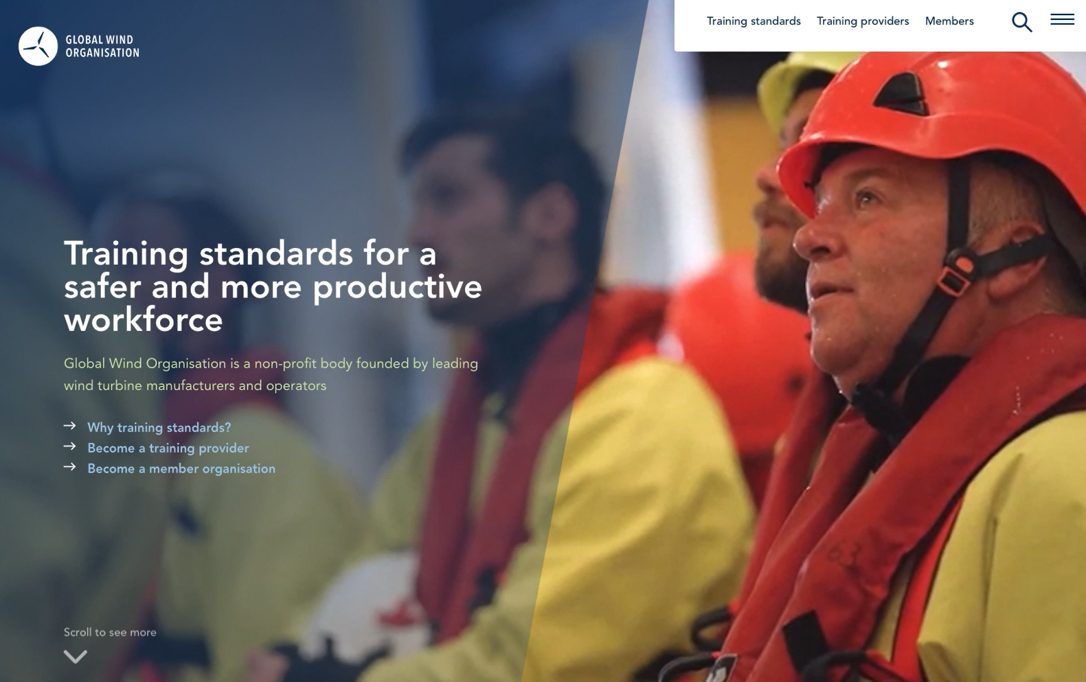 Global Wind Organisation - Training standards for a safer and more