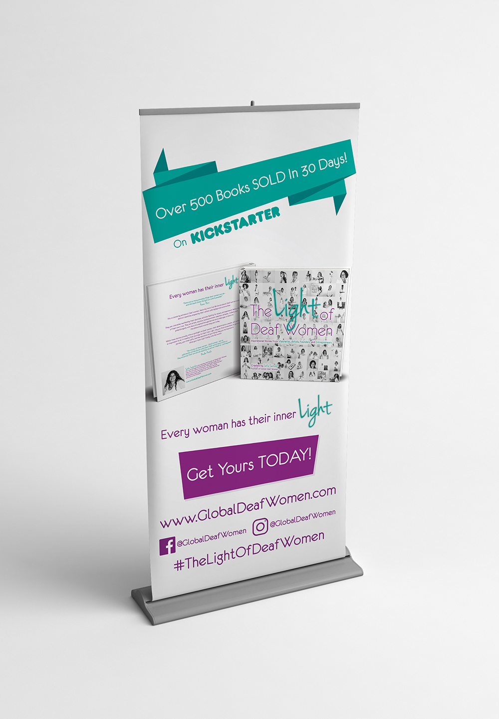 Global Deaf Women Banner Mock Up