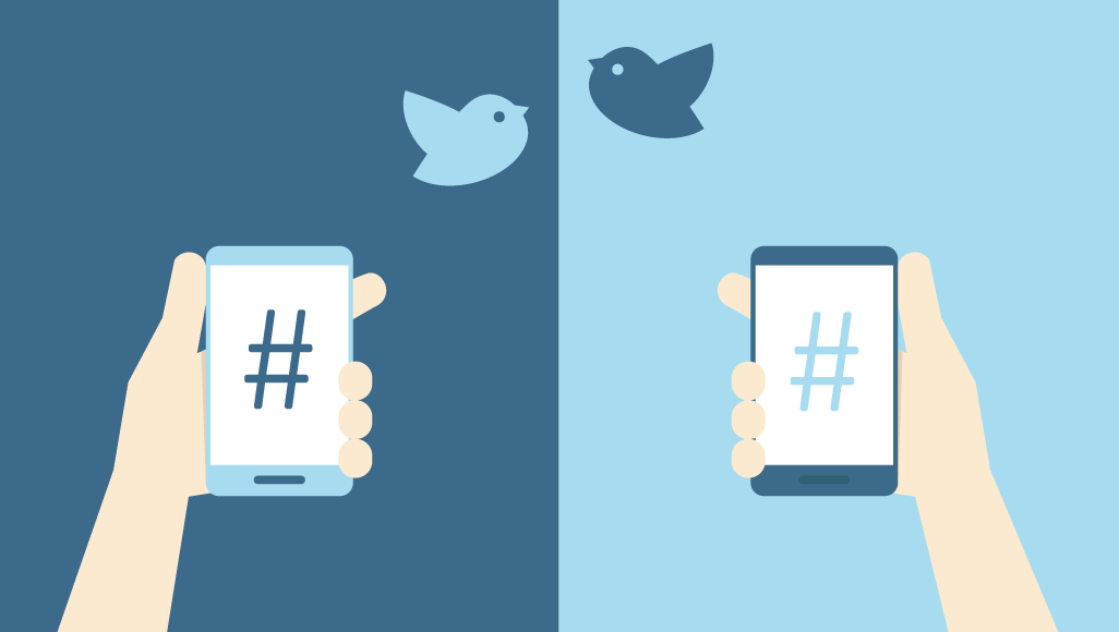 how to use hashtags|