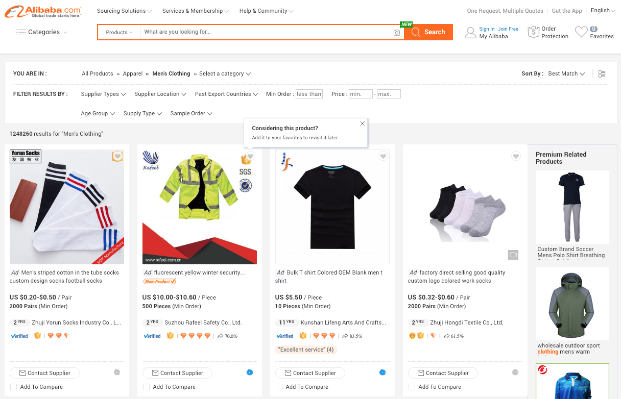 Alibaba Marketplace B2B Model in e Commerce