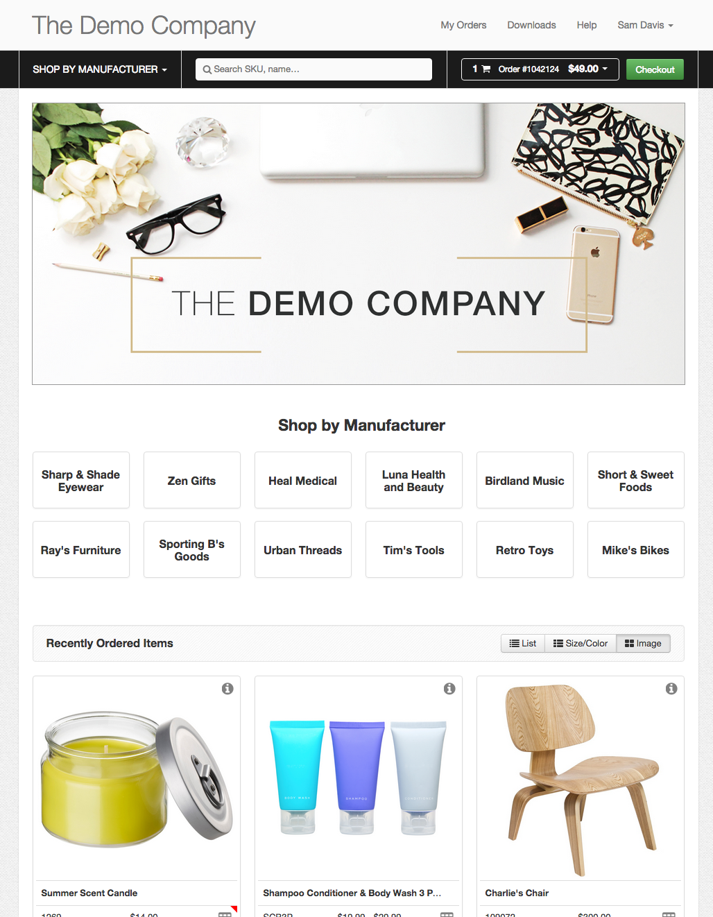 B2B e Commerce websites UX
