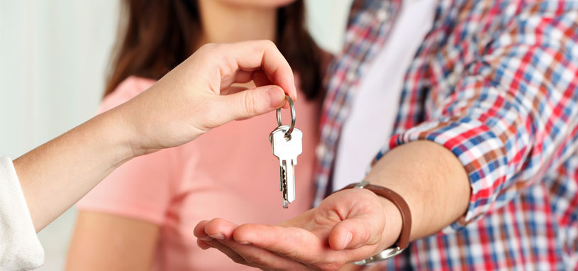 completion of a transfer of property through conveyancing