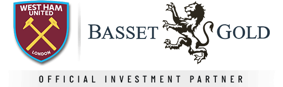 basset and gold : West-Ham United's Official Global Investment Partner