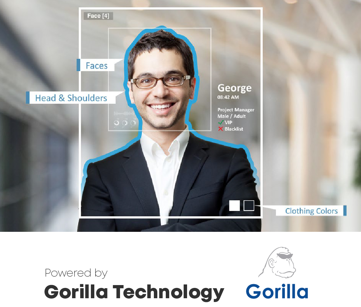 Gravio Enterprise AI Editionに含まれる機能(顔認識)- Powered by Gorilla Technology(Gorilla Technology Inc.)