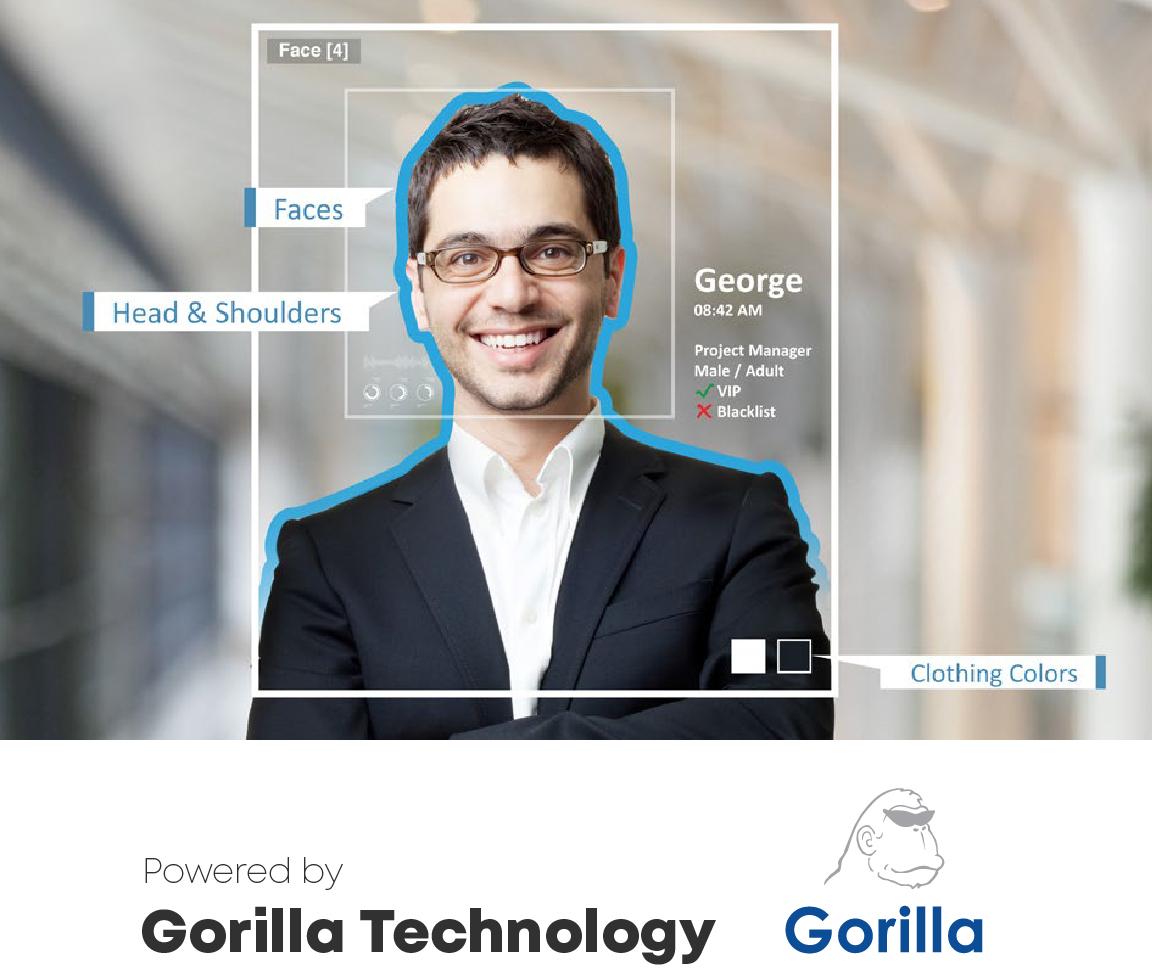Gravio Enterprise AI Editionに含まれる機能(顔認識)- Powered by Gorilla Technology(Gorilla Technology Inc.)
