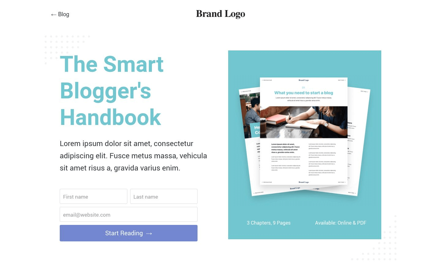 White Paper Template (9 Page Types Included)