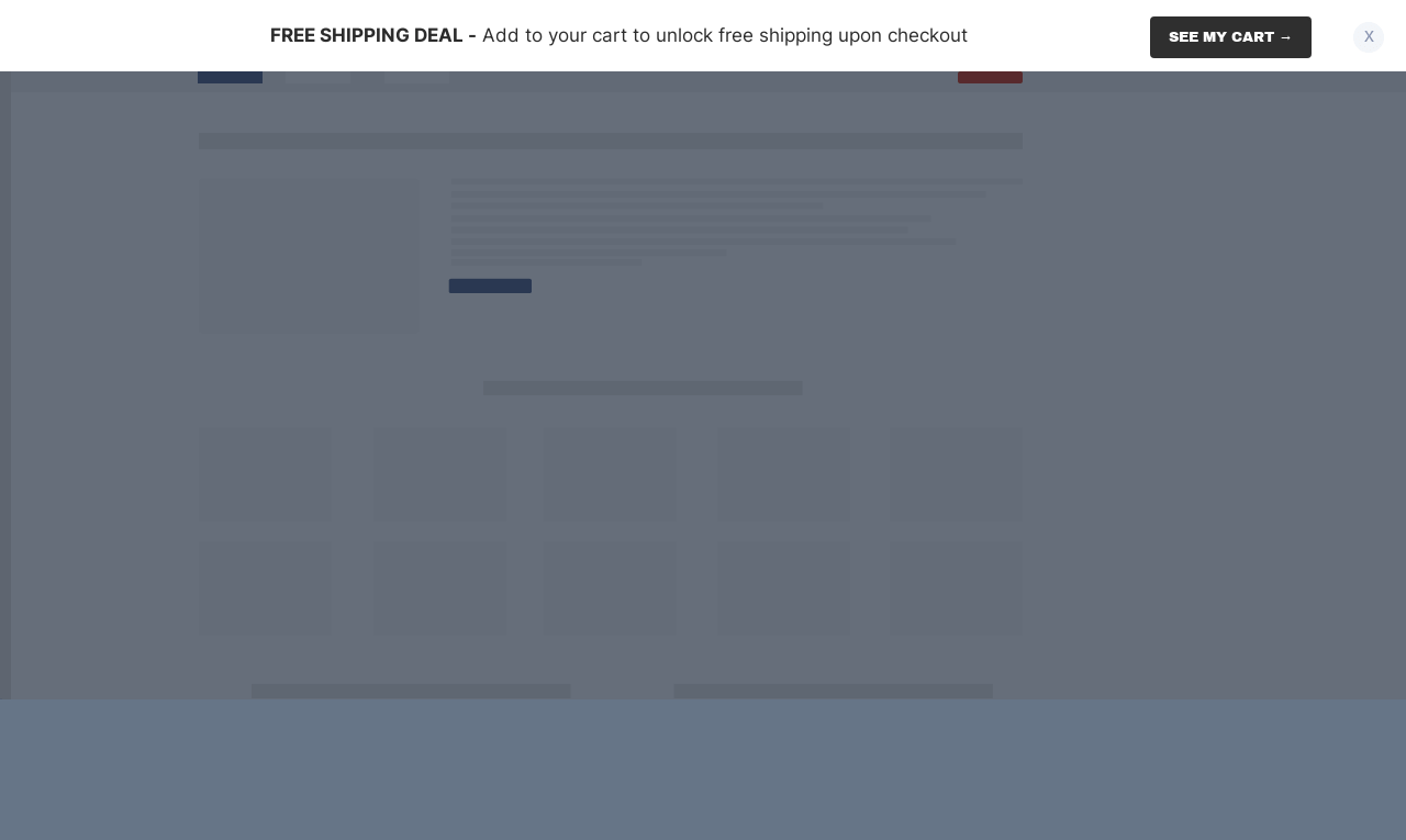 Simple Free Shipping Sticky Bar Template